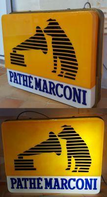 Enseigne lumineuse Pathé marconi Vintage *RARE* de Arlux