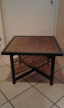TABLE BASSE DESIGN BAMBOU