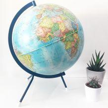 Globe terrestre vintage tripode