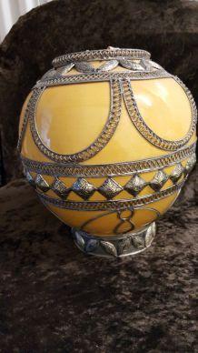 Gros vase orientale terre cuite