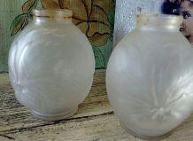 Lot 2 vases art déco