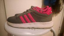 Adidas grise et rose