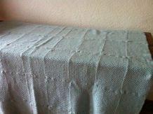 Plaid vintage tricoté