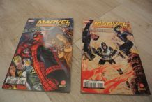 LOT 2 MARVEL UNIVERSE 5 ET 6 (oct 2007/déc 2007)PANINI COMICS