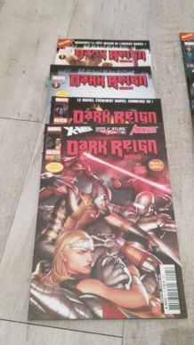 LOT BD PANINI COMICS DARK REIGN SAGA