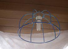 suspension luminaire bleu perles hama