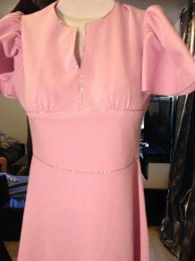 robe-Vintage-année- 60-  taille-38/40  marque-Diolen