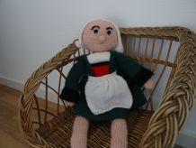 Bécassine tricotée - vintage