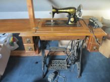 machine a coudre ancienne Singer