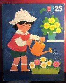 Puzzle 25 pièces - vintage