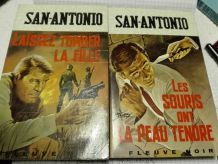 COLLECTION DE Livres SAN ANTONIO