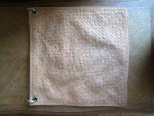 Grand sac cuir tressé