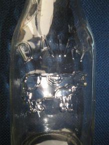 Milk jar en verre