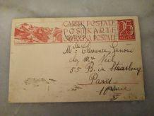 CARTE POSTALE SUISSE DE 1923