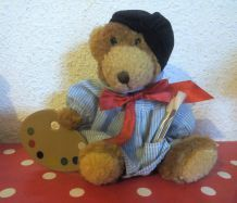 The Teddy Bear collection : Alphonse the artist