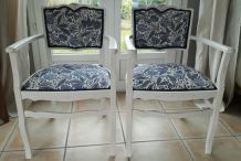 Fauteuils shabby chic