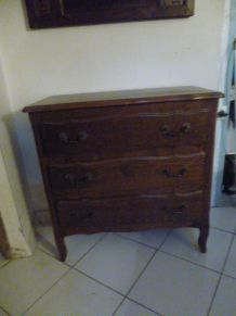 COMMODE EN CHENE