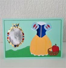 Carte princesse Blanche Neige