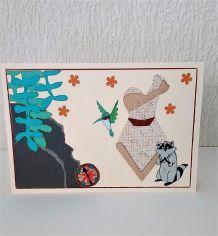 Carte princesse Pocahontas