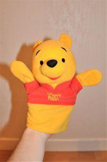 Marionnette Winnie l'Ourson 21cm