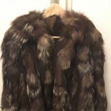 Manteau en fourrure années 80