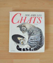 "Grand livre "" Nos amis les chats "" de E. Natoli"