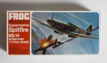 Spitfire Mk14 Frog maquette avion 1/72