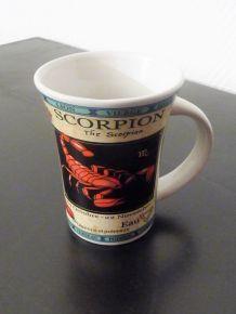 """Mug Horoscope """"Scorpion"""" - Neuf"""