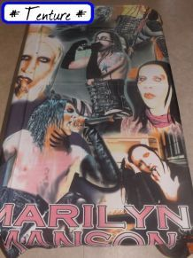 Drapeau / Tenture Marilyn Manson
