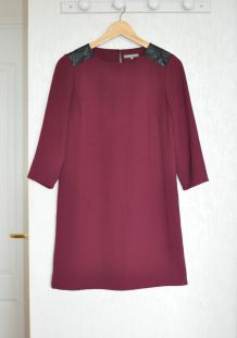 Robe bordeaux ICI ET MAINTENANT - Taille 38