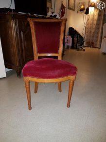Chaise ancienne (quantité 6 unités)