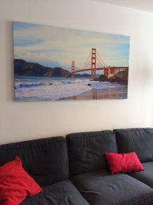 Tableau Photo sur toile Golden Gate