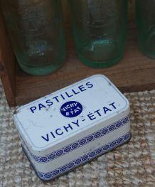 Boite métal ancienne pastilles Vichy 1950