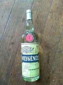 Bouteille d'absinthe Oxygénée Cusenier
