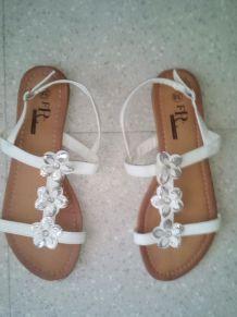 Sandales plats