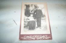 PHOTOGRAPHIE FIN 1890 16,5 cm par 10,5 cm