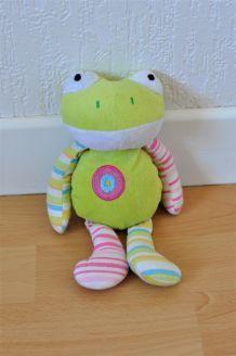 Petite peluche grenouille 23cm