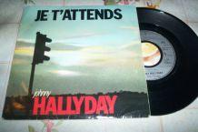 disque 45 tours 2 titres johnny hallyday