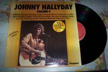 DISQUE 33 TOURS JOHNNY HALLYDAY