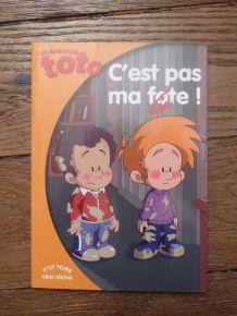 Les Blagues De Toto - C'est Pas Ma Faute ! de Valérie Videau- Albin Michel