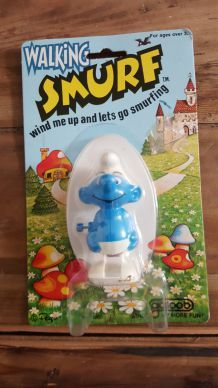 Figurine Schtroumpf (Walking Smurf - 1980)