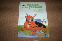 ALBUM FABLE LA FONTAINE ILLUSTRATIONS DE BENJAMIN RABIER