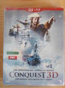 DVD blu-ray 3D CONQUEST