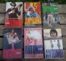 Lot de 6 San Antonio - Éditions Fleuve Noir