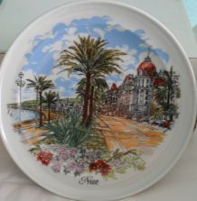 Assiettes nice De France