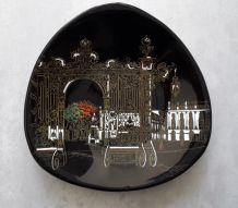 assiette en céramique de Longwy