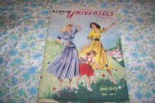 ALBUM DES PATRONS UNIVERSELS MODE ETE 1949 rare revue mode