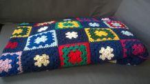 Couvre lit en crochet vintage