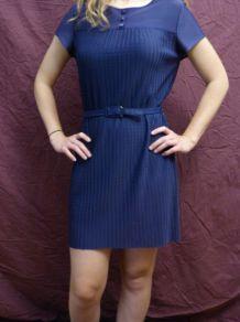 Robe bleue-violette