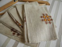 Serviettes de table Vintage'S 70